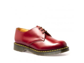 3 eye shoes cherry red